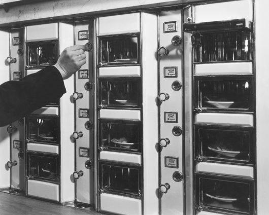 Vintage automat photo