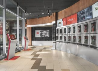 Automat interior