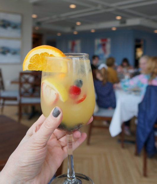 specialty cocktails at The Pier House Cape May
