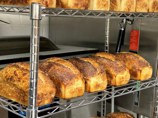White bread by Benchmark Breads