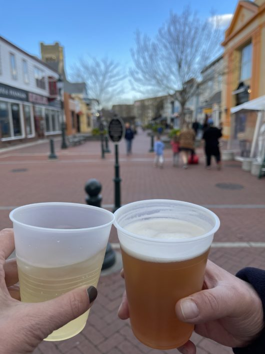 cocktails downtown Cape May
