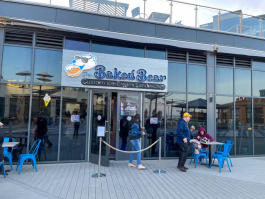 The Baked Bear storefront