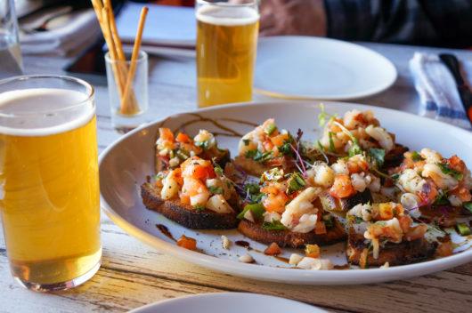 Shrimp Crostini from Belmar Kitchen