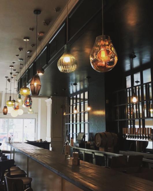 Interior of Homesick restaurant