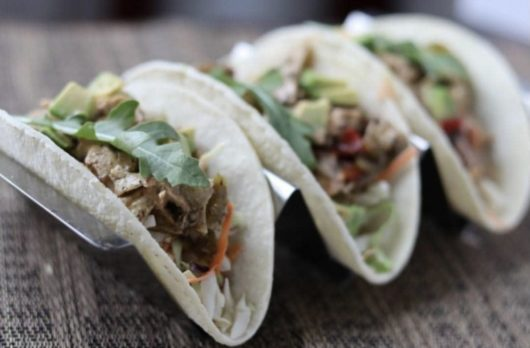 Tacos from Vegbar