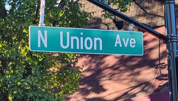 Union Avenue in Cranford