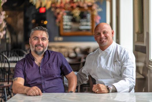 Chef James Avery and Sebastian Walker