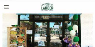 Fanwood larder entrance