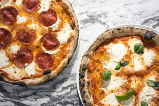 Pizzas from Corbo & Sons