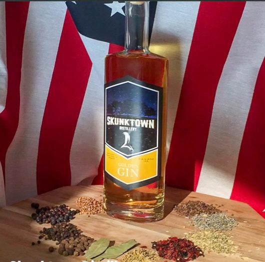 Skunktown Distillery's Golden Gin