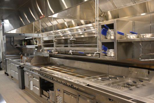 Tops Diner world-class kitchen