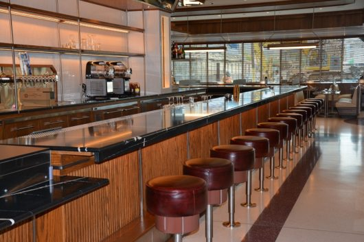 Tops Diner The 18-stool counter