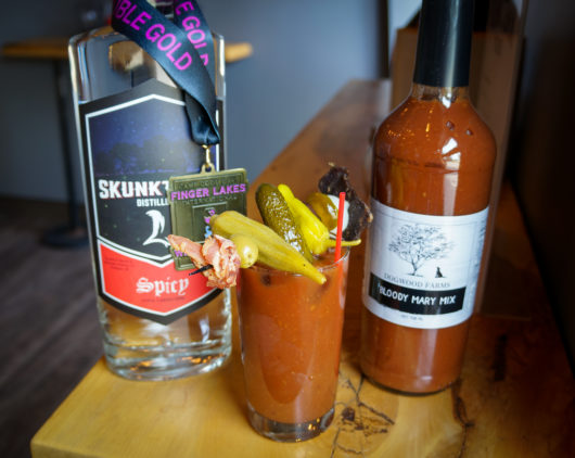 The Spicy Vodka Bloody Mary