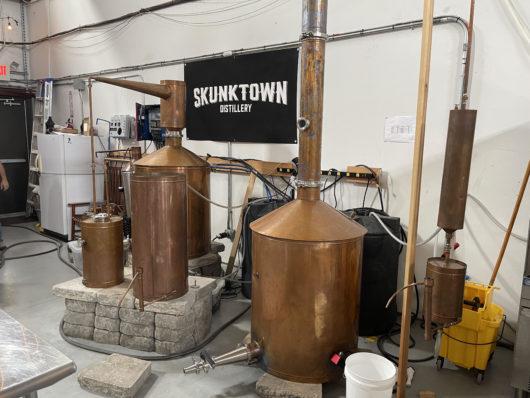 Stillz Store still at Skunktown Distillery